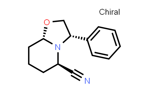AM12169 | 106565-71-3 | (3S,5R,8aS)-3-phenylhexahydro-2H-oxazolo[3,2-a]pyridine-5-carbonitrile