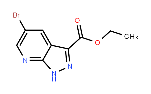 Ethyl 5-bromo-1H-pyrazolo[3,4-b]pyridine-3-carboxylate