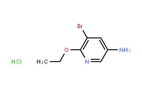 AM11562 | 1187386-05-5 | 5-Bromo-6-ethoxypyridin-3-amine hydrochloride