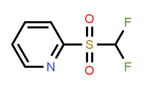 AM12166 | 1219454-89-3 | 2-[(Difluoromethyl)sulfonyl]pyridine