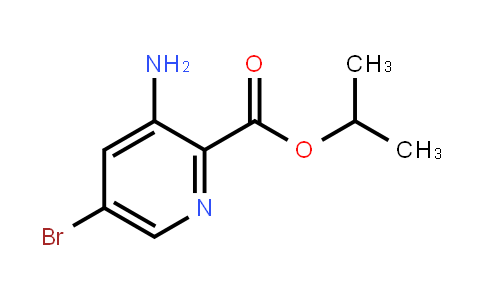 AM11863 | 1313738-67-8 | Isopropyl 3-amino-5-bromopicolinate