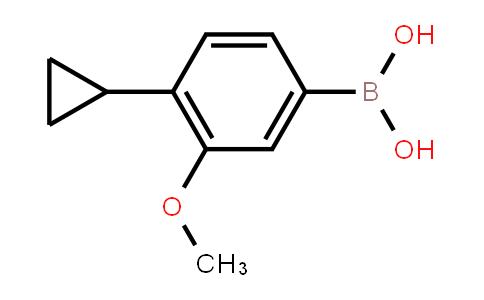 BP21737 | 1840935-61-6 | 4-Cyclopropyl-3-methoxyphenylboronic acid