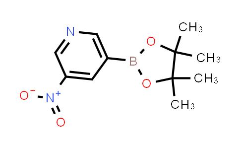 AM12145 | 2096331-60-9 | 3-Nitro-5-(4,4,5,5-tetramethyl-1,3,2-dioxaborolan-2-yl)pyridine