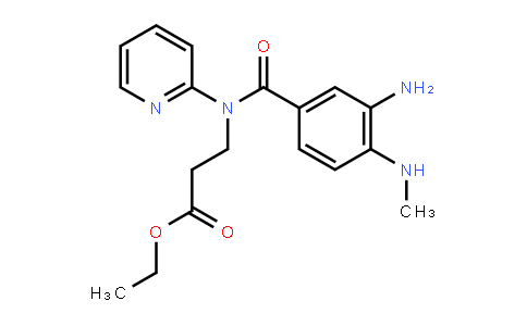 AM11886 | 212322-56-0 | 3-[(3-Amino-4-methylaminobenzoyl)pyridin-2-ylamino]propionic acid ethyl ester