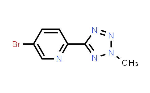 AM12146 | 380380-64-3 | 5-Bromo-2-(2-methyl-2H-tetrazol-5-yl)pyridine