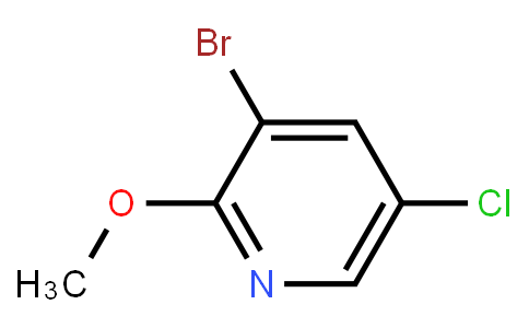2-Methoxy-3-Bromo-5-Chloropyridine