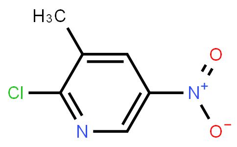 2-Chloro-5-nitro-3-picoline
