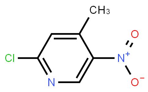 2-Chloro-5-nitro-4-methylpyridine