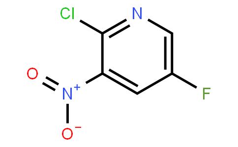 2-Chloro-5-fluoro-3-nitropyridine