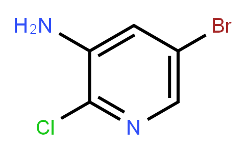 2-Chloro-3-amino-5-bromopyridine