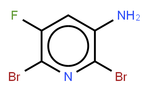 3-Amine-2,6-dibromo-5-fluoropyridine