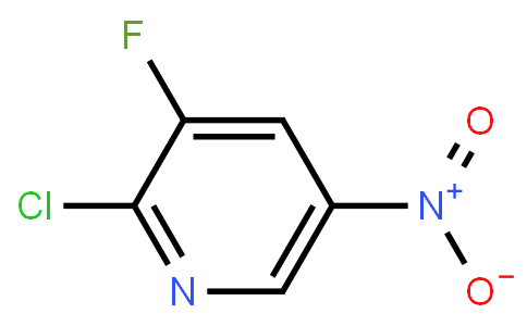 2-Chloro-3-fluoro-5-nitropyridine