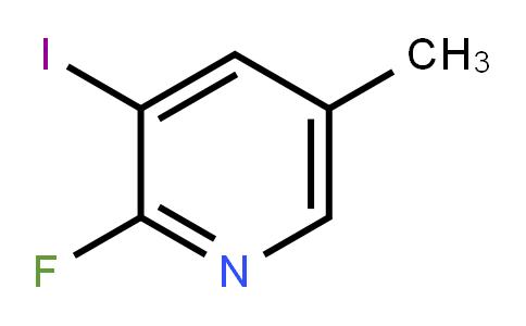 2-Fluoro-3-iodo-5-methylpyridine
