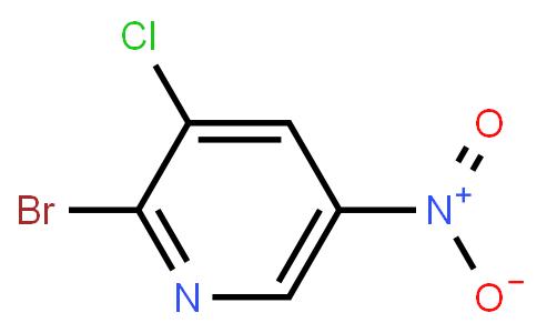 2-Bromo-3-chloro-5-nitro pyridine