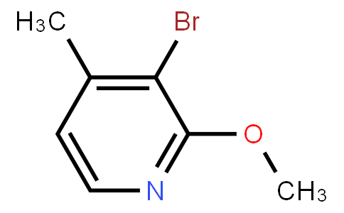 3-Bromo-2-methoxy-4-methylpyridine