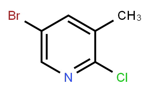 5-Bromo-2-chloro-3-methyl pyridine