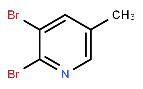 2, 3-Dibromo-5-methylpyridine