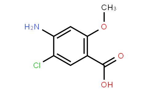 AM10391 | 7206-70-4 | 4-AMino-5-Chloro-2-MethoxybenzoicAcid