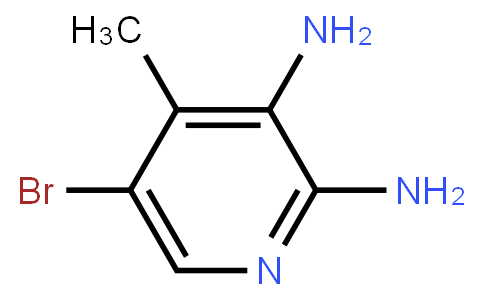 5-Bromo-2,3-Diamino-4-Methylpyridine