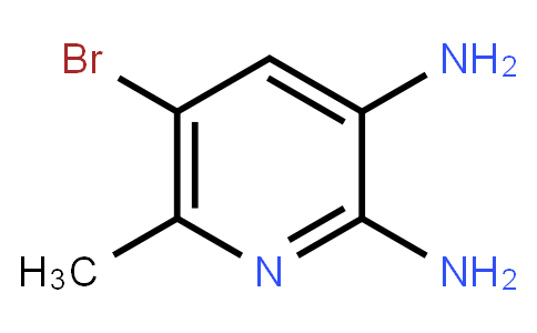 5-Bromo-2,3-Diamino-6-Methylpyridine
