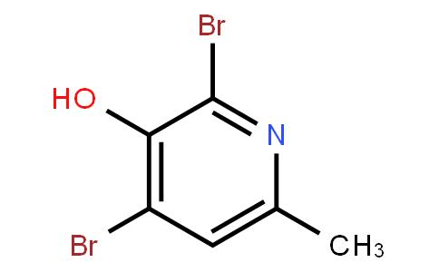 2,4-Dibromo-3-Hydroxy-6-Methylpyridine