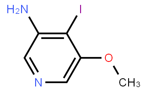 3-Amino-4-Iodo-5-Methoxypyridine