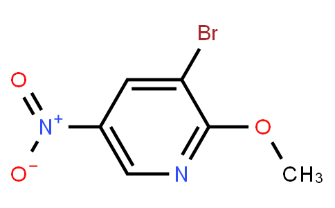 3-Bromo-2-Methoxy-5-Nitropyridine