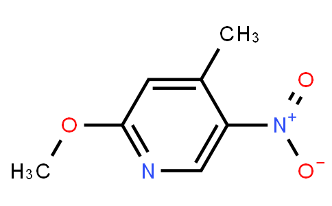 2-Methoxy-4-Methyl-5-Nitropyridine