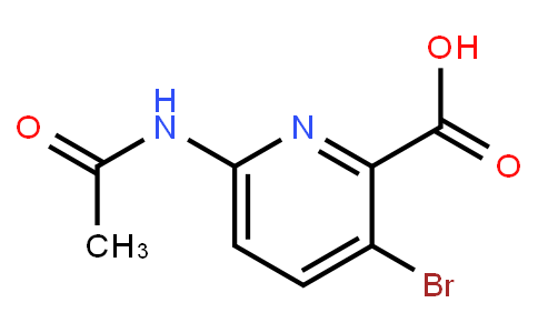 AM10760 | 882430-69-5 | 6-Acetamido-3-Bromopicolinic Acid