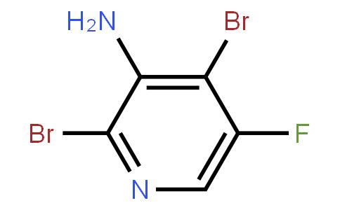 2,4-Dibromo-5-Fluoro-3-Pyridinamine