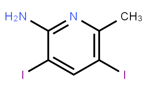 AM10827 | 1000342-88-0 | 2-Amino-3,5-Diiodo-6-Methylpyridine