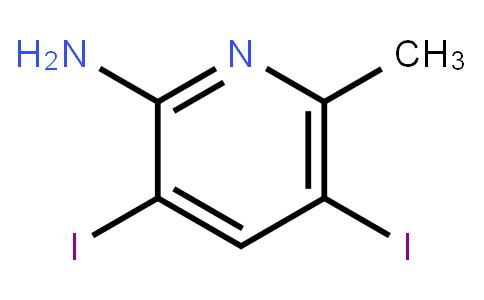 2-Amino-3,5-Diiodo-6-Methylpyridine