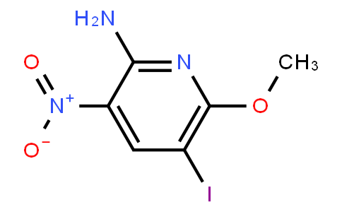 2-Amino-5-Iodo-6-Methoxy-3-Nitropyridine