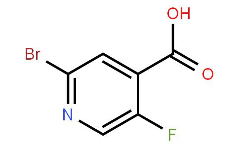 2-Bromo-5-Fluoro Isonicotinic Acid