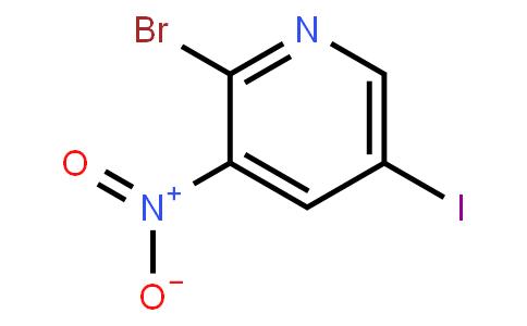 2-Bromo-5-Iodo-3-Nitropyridine