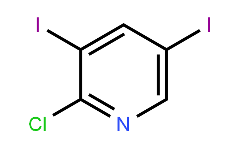 2-Chloro-3,5-Diiodopyridine