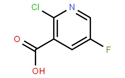 2-Chloro-5-Fluoronicotinic Acid