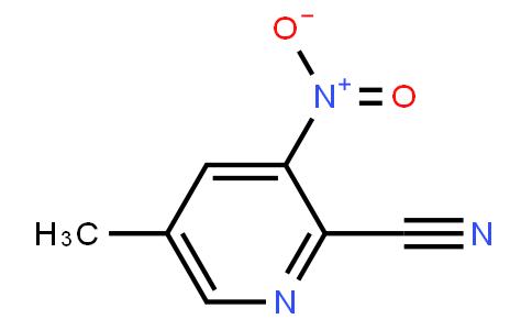 5-Methyl-3-Nitropicolinonitrile