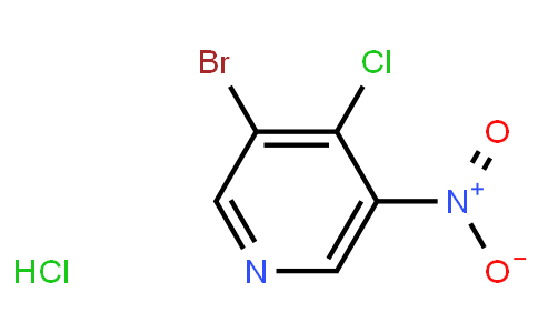 3-Bromo-4-chloro-5-nitropyridine HCl