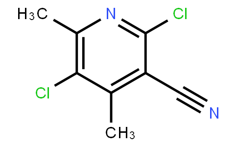 3-Cyano-2,5-dichloro-4,6-dimethylpyridine