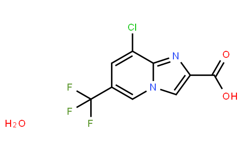 AM11061 | 353258-35-2 | 8-Chloro-6-(trifluoromethyl)imidazo[1,2-a]pyridine-2-carboxylic acid hydrate