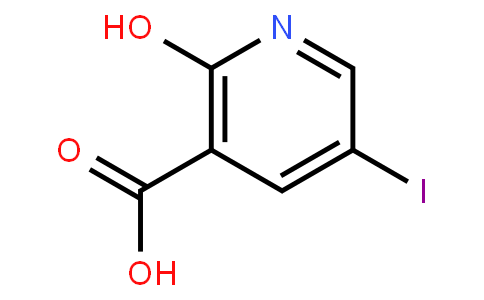 2-Hydroxy-5-iodonicotinic acid