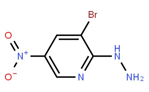 3-Bromo-2-Hydrazino-5-Nitropyridine