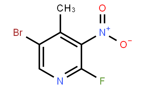 AM11274 | 5-Bromo-2-Fluoro-4-Methyl-3-Nitropyridine