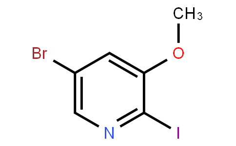 5-Bromo-2-Iodo-3-Methoxypyridine