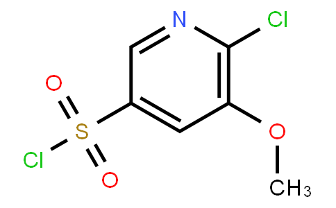 6-Chloro-5-Methoxypyridine-3-Sulfonyl Chloride