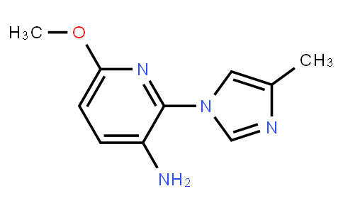 AM11387 | 1156499-28-3 | 6-Methoxy-2-(4-Methyl-1H-Imidazol-1-Yl)-3-Pyridinamine