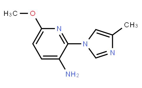AM11387 | 1156499-28-3 | 6-Methoxy-2-(4-Methyl-1H-Imidazol-1-Yl)-3-Pyridinamine