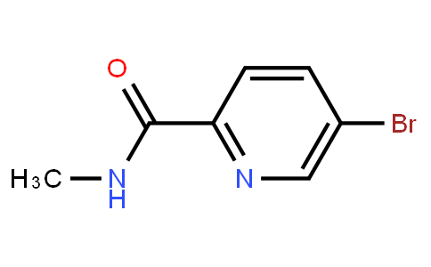 5-Bromopyridine-2-Carboxylic Acid Methylamide