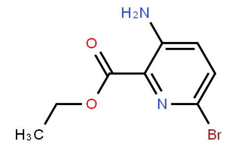 AM11527 | 28033-08-1 | 3-Amino-6-Bromopyridine-2-Carboxylic Acid Ethyl Ester